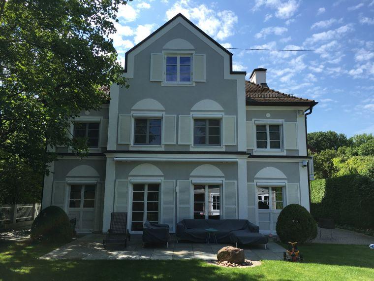 Fassadengestaltung einfamilienhaus beispiele  Leistungen und Referenzen | Malerarbeiten & Lackierarbeiten ...