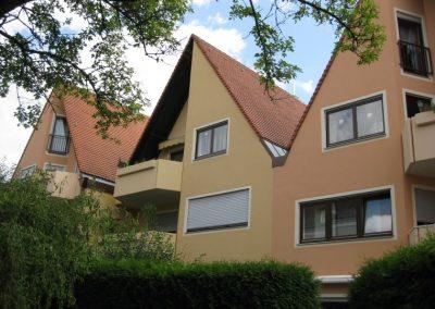 Gestaltung einer Wohnanlage in der Innenstadt Friedberg