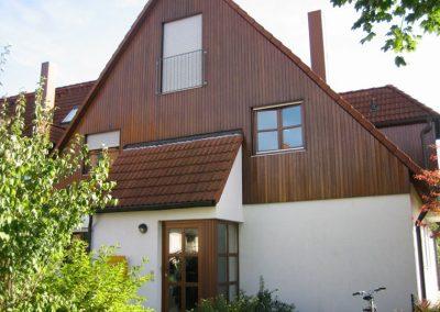 Renovierungs- und Schutzanstriche auf Holzfassaden