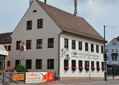 Komplettsanierung innen und außen einer Gaststätte in Friedberg
