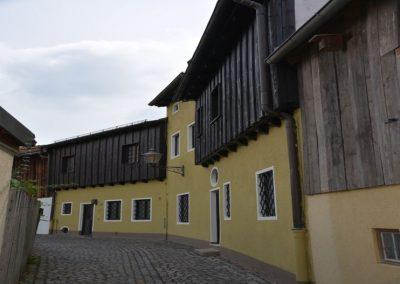 Die historische Stadtmauer von Friedberg
